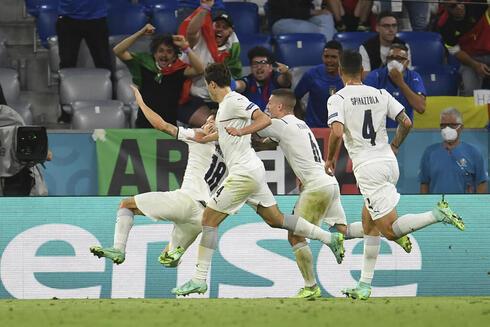 נבחרת איטליה יורו 2020, צילום: AP