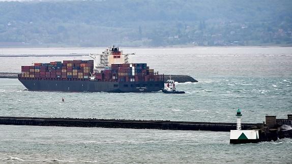 ספינת המטען CSAV TYNDALL, גטי
