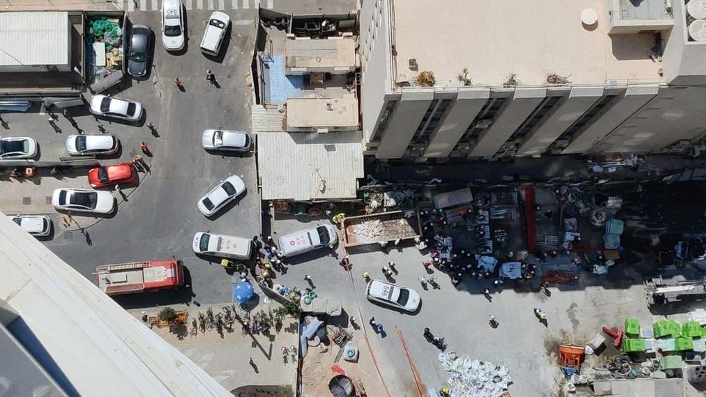 פועל נהרג מנפילה מגובה במגדלי גינדי TLV - מול עיני הדיירים במתחם