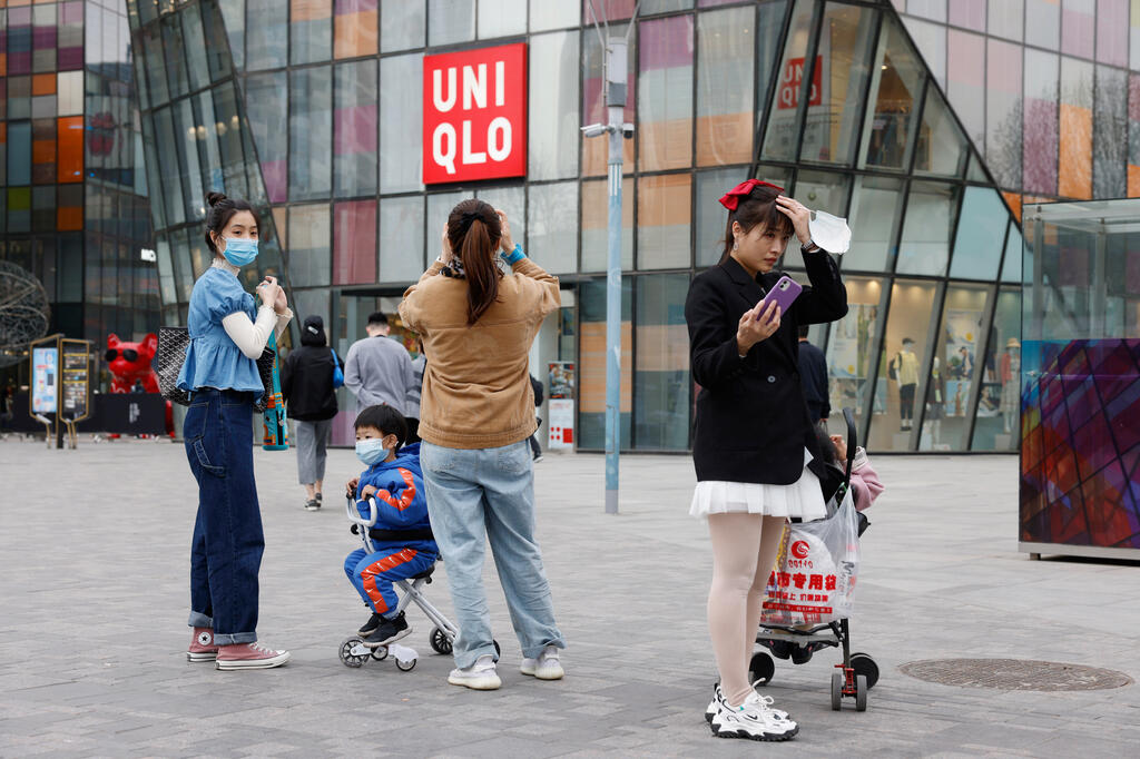 חנות של יוניקלו ב בייג'ינג סין