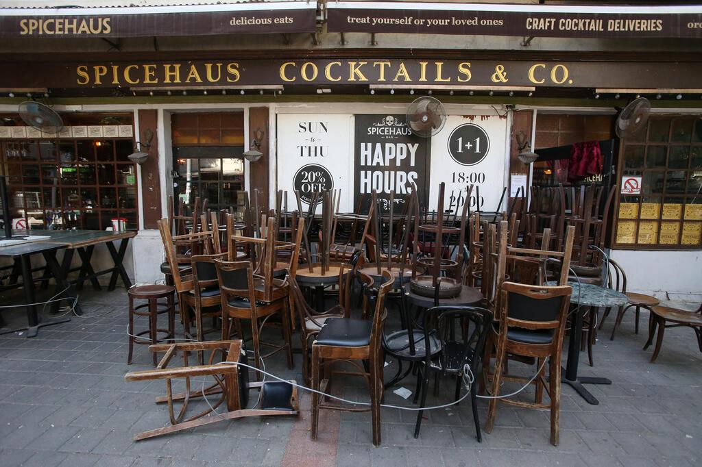 מסעדה סגורה בזמן ה קורונה