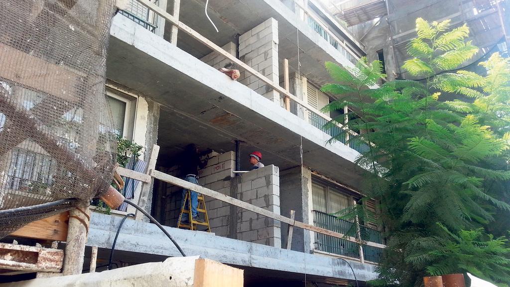 """פרויקט התמ""""א התארך והקבלנים יפצו את הדיירים ב־2 מיליון שקל"""