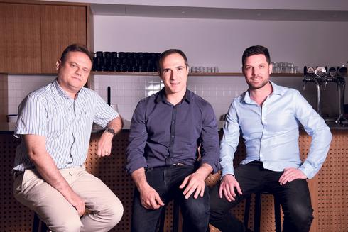 מייסדי פיירבלוקס עידן עפרת, מיכאל שאולוב ופבל ברנגולץ. החברה נתבעה, צילום: יוסי זליגר