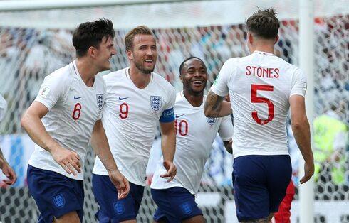 נבחרת אנגליה ביורו 2020. מכונה משומנת, צילום: גטי