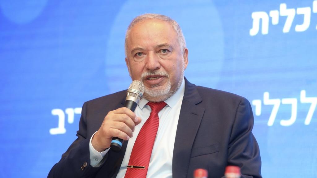 שר האוצר אביגדור ליברמן כנס לשכת רואי החשבון אילת