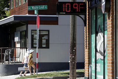 סיאטל וושינגטון עם 109 מעלות פרנהיים, רויטרס