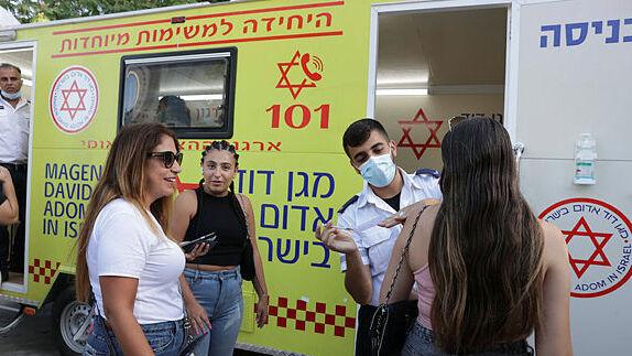 מתחם חיסון פופ-אפ בתל אביב , אוראל כהן