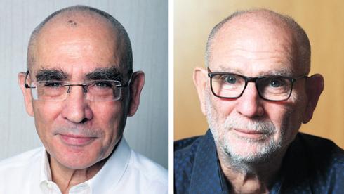 מימין: מכבי ויואל קרסו, צילום: אוראל כהן, עמית שעל