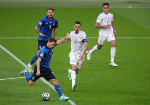 איטליה נגד ספרד בחצי הגמר, רויטרס