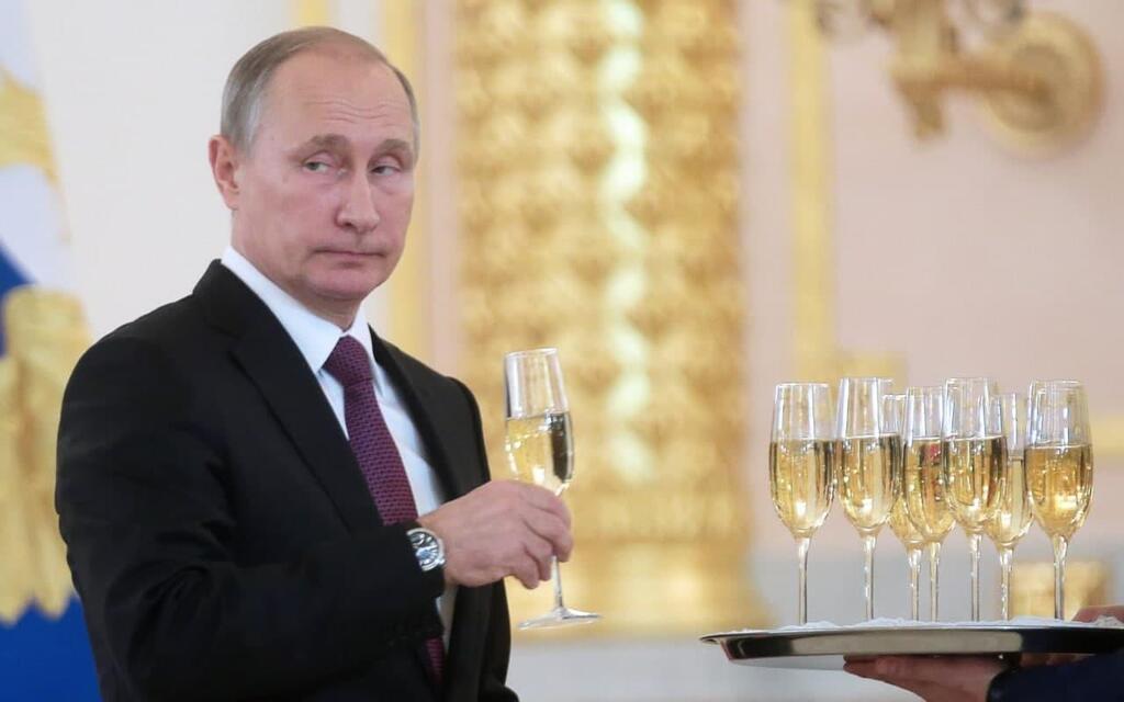 פוטין שמפניה
