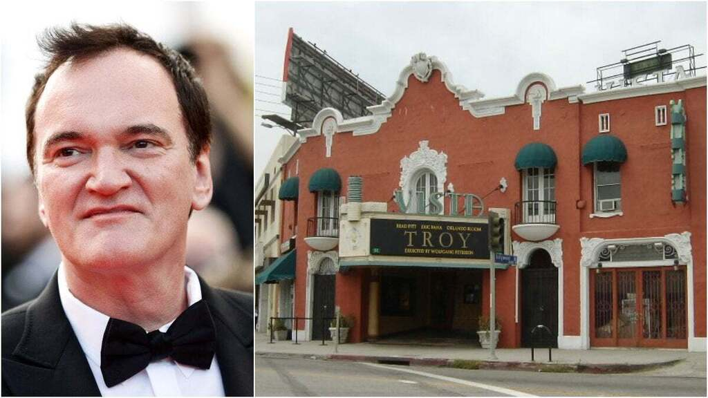 טרנטינו נוסטלגי: רכש את קולנוע ויסטה ההיסטורי בלוס אנג'לס