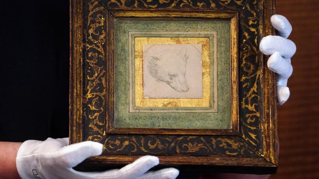 איור בגודל מיניאטורי של לאונרדו דה וינצ'י נמכר במכירה פומבית תמורת 12.2 מיליון דולר