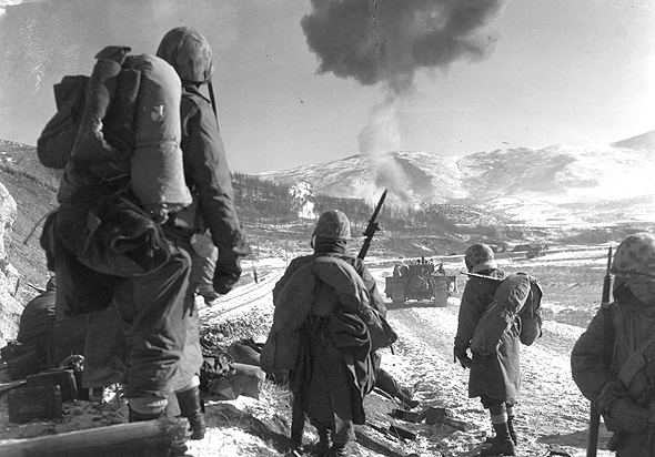 """חיילי ארה""""ב מלחמת קוריאה"""