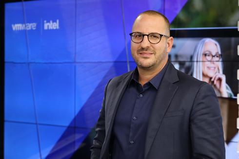 """שלומי אביב מנכ""""ל VMware ישראל, ניב קנטור"""