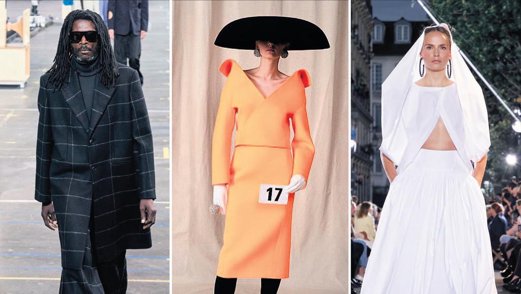 אופוריה בפריז: תצוגות האופנה חוזרות