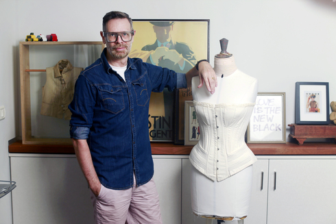 מעצב האופנה מוני מדניק , צילום: עמית שעל
