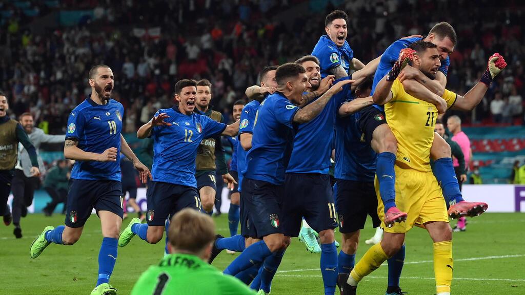נבחרת איטליה ניצחון יורו 2020