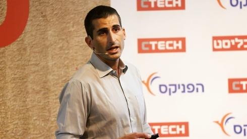 """גלעד תירוש סמנכ""""ל הסחר דואר ישראל כנס איקומרס, צילום: יריב כץ"""