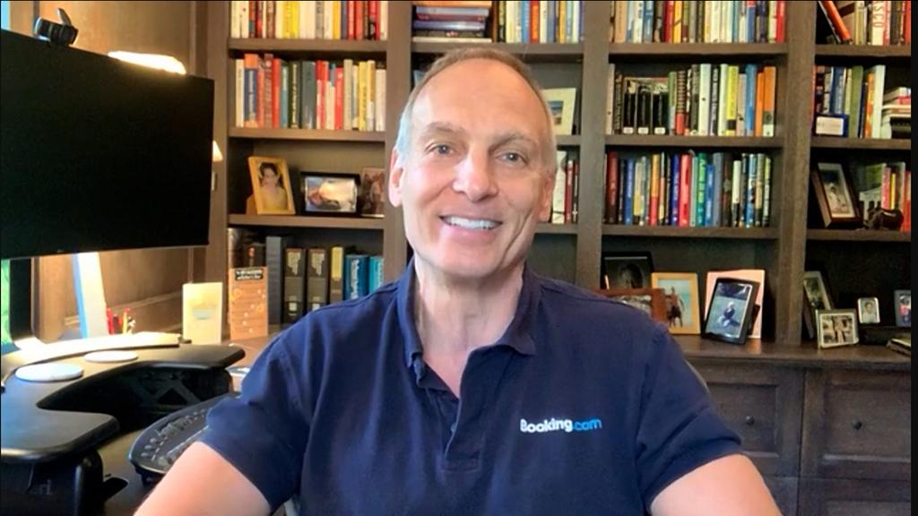 """גלן פוגל נשיא ומנכ""""ל Booking Holdings כנס e commerce 360"""