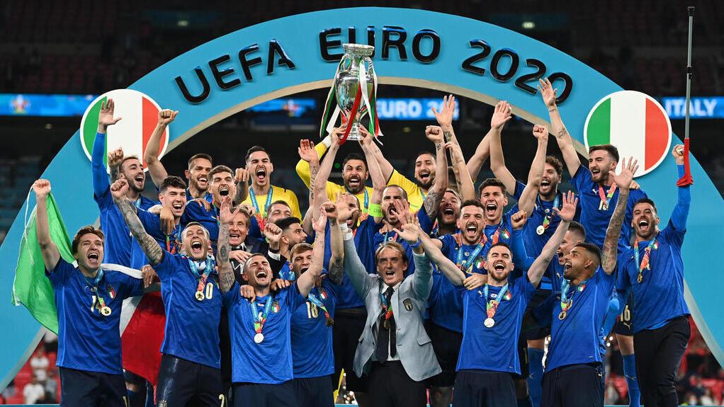 נבחרת איטליה זוכה ביורו