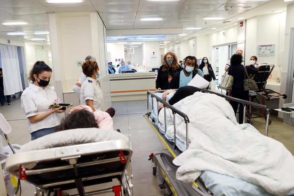 מחלקת מיון ב בית חולים בילינסון מחלקה ל רפואה דחופה חולים