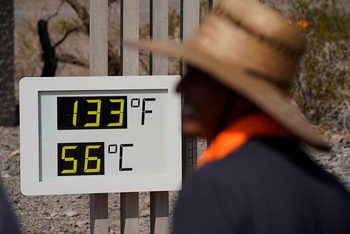 """גל חום קיצוני בארה""""ב, AP"""