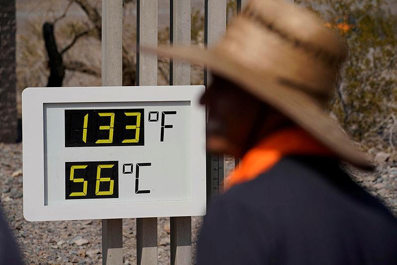"""גל חום קיצוני ב ארה""""ב קליפורניה"""