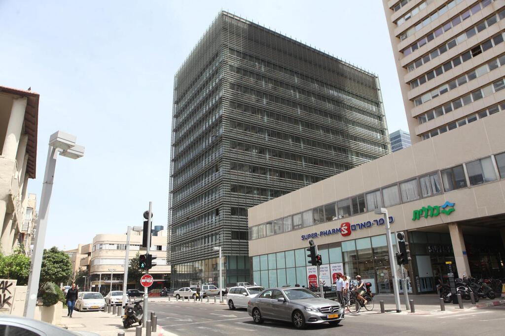 מתחם משרדים באזור הבורסה רמת גן בניין הבורסה ל ניירות ערך  תל אביב