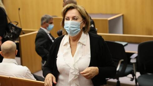 פאינה קירשנבאום בבית המשפט, מוטי קמחי