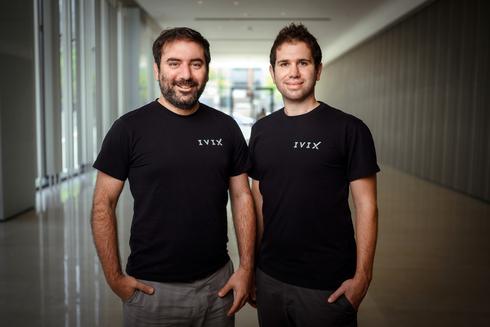 """מתן פטאל (מנכ""""ל) ודורון פסוב (CPO), חברת הפינטק IVIX, צילום: דורון לצטר"""