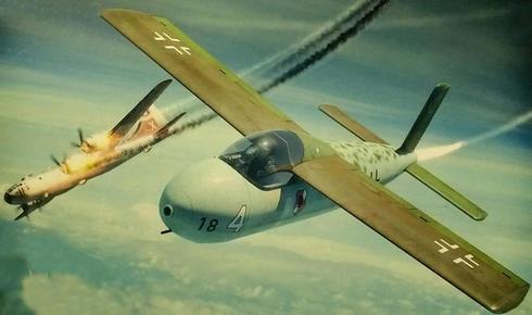 אחד מאבות הטיפוס בתוכנית מיירט החירום: מטוס רקטה זעיר , צילום: brengun