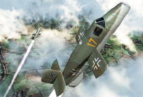 מטוס הנאטר, כלי רקטי אוטומטי שפותח במסגרת התוכנית , צילום: papercraftsquare