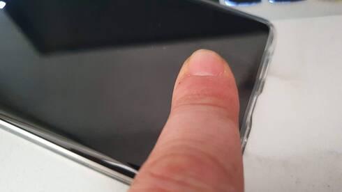 סורק טביעות האצבעות עובד מצוין , רפאל קאהאן