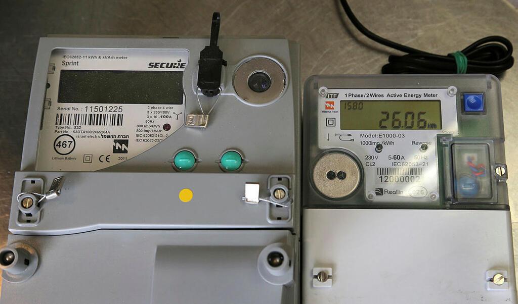 מונה חשמל דיגיטלי חכם שעון חשמל