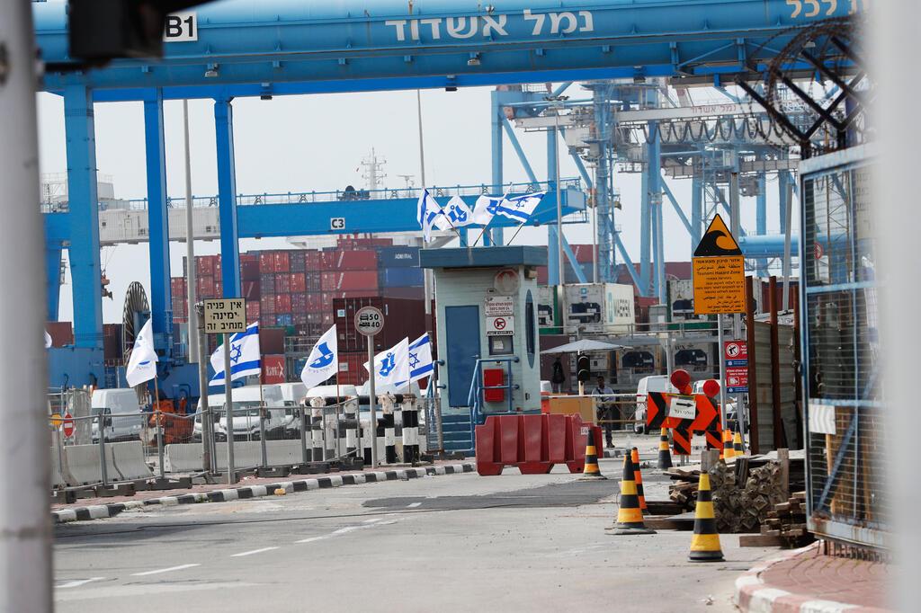כניסה ל נמל אשדוד