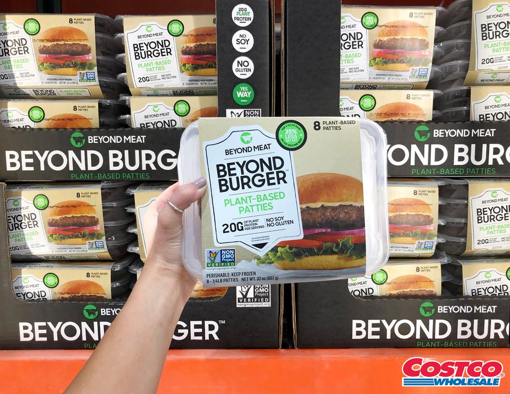 המבורגר צמחי של ביונד מיט beyond meat