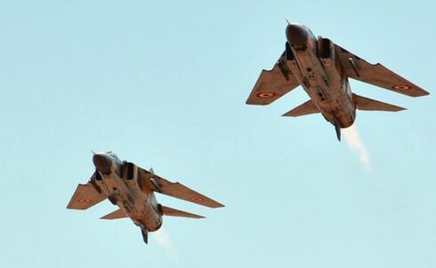 מיגים סוריים. הרבה המריאו במלחמת לבנון; כמה נחתו? פחות, צילום: אתר משרד הביטחון הסורי