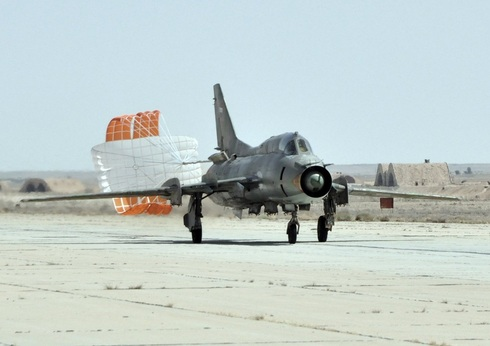 סוחוי 22 סורי נוחת, צילום: waroffline