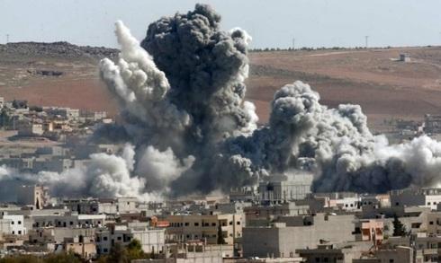 מוות ממעל, יום אחר יום: הפצצת שטח בנוי בסוריה, צילום: SNHR