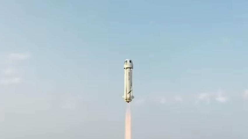 שיגור המעבורת של בזוס