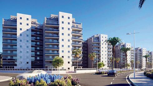 לראשונה אושרה התחדשות עירונית באשקלון: 210 דירות יתווספו לחמישה בניינים בשדרות שפירא