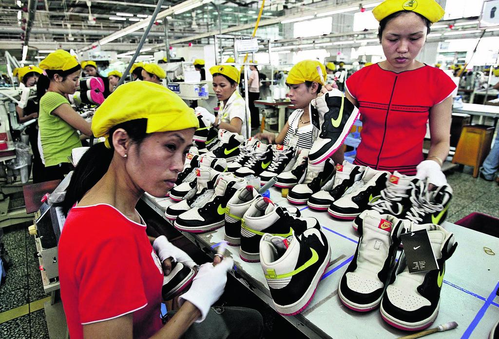 מפעל של נייקי בווייטנאם