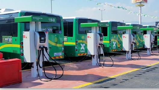 בחצי מיליארד שקל: תוכנית להתקנת תשתיות חשמליות לאוטובוסים