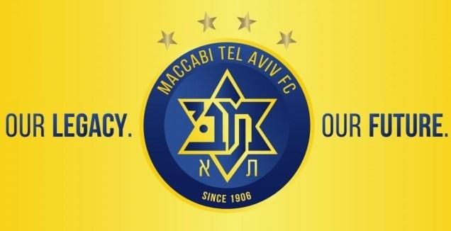 """הסמל החדש של מכבי ת""""א בכדורגל"""
