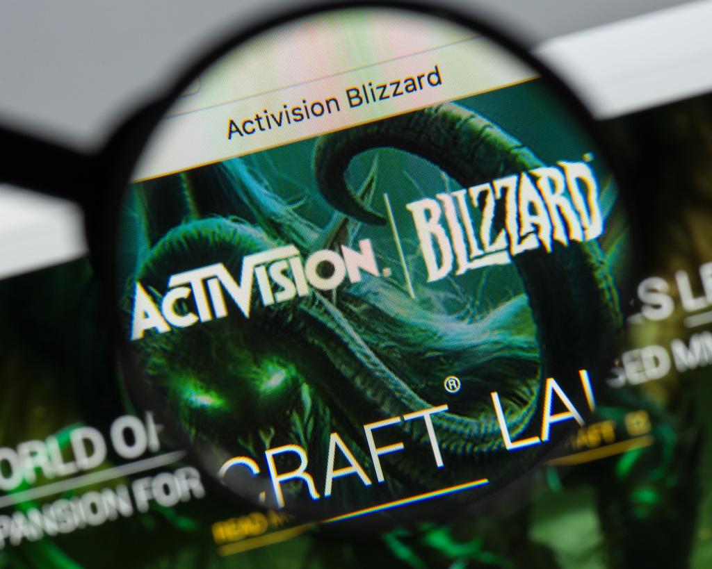 ענקית הגיימינג אקטיוויז'ן-בליזארד Activision Blizzard