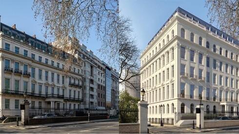 מיליארדר סיני יבנה ארמון פרטי במרכז לונדון