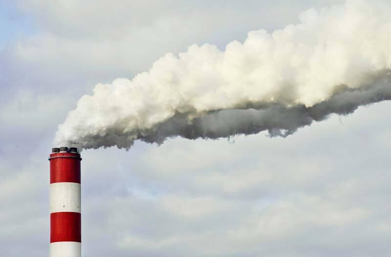 זיהום אוויר פליטות גזי חממה
