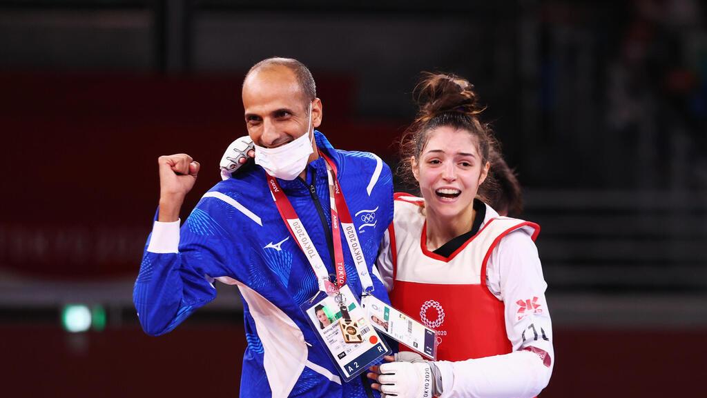 אבישג סמברג טאקוונדו מדליה מאמן טוקיו