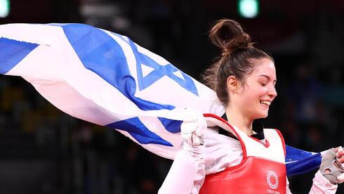 מדליה ראשונה לישראל בטוקיו: ארד לאבישג סמברג בטאקוונדו