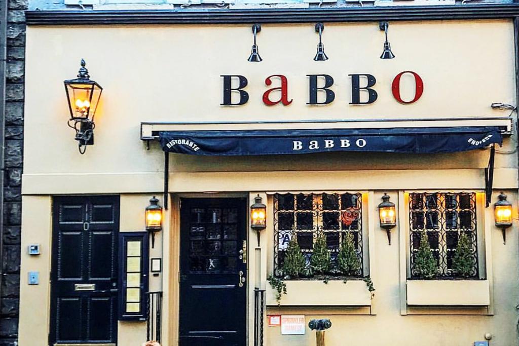 מסעדה באבו Babbo ניו יורק של שף מריו בטאלי